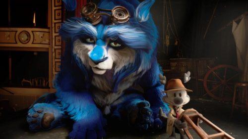 gato personaje blue
