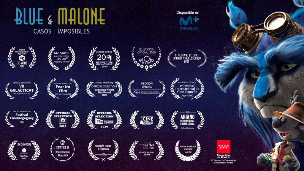 festivales blue malone animación