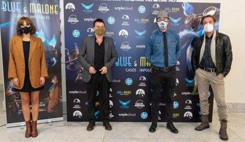 estreno blue malone aura garrido cine