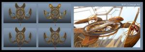 nave espacial maria luisa animacion