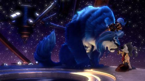 blue malone animacion
